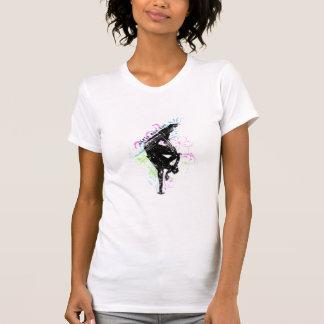 女の子のブレイクダンス Tシャツ