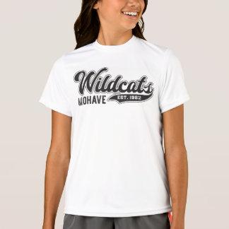 女の子のモハービ族の山猫米国東部標準時刻。 1962年のスポーツTekのTシャツ Tシャツ