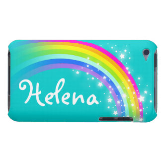 女の子の一流の虹の水のipod touchの場合 Case-Mate iPod touch ケース