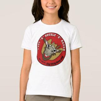 女の子の信号器の不精なろばのワイシャツ Tシャツ