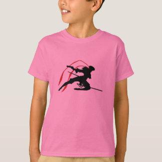 女の子の優美のFlynnのTシャツ Tシャツ
