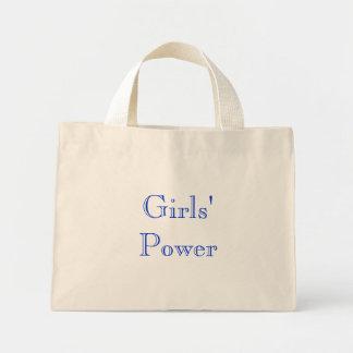 女の子の力 ミニトートバッグ