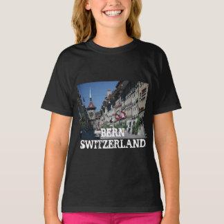 女の子の基本的なHanes Tagless ComfortSoft®のTシャツ Tシャツ