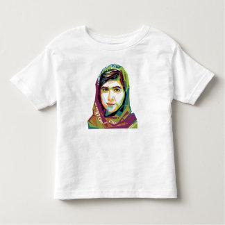女の子の幼児のジャージーの1枚のTシャツ トドラーTシャツ