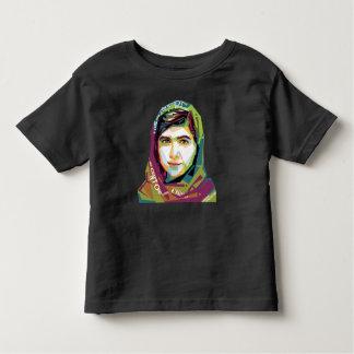 女の子の幼児の暗いジャージーの1枚のTシャツ トドラーTシャツ