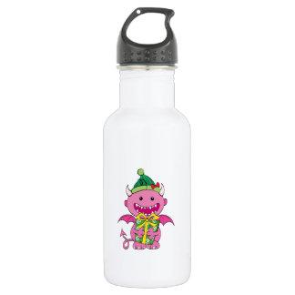 女の子の悪魔との ウォーターボトル