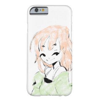 女の子の毛の風 BARELY THERE iPhone 6 ケース