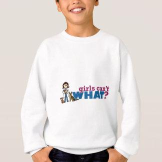 女の子の獣医 スウェットシャツ