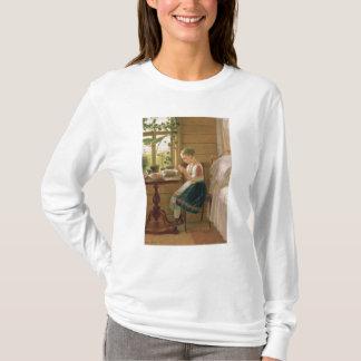 女の子の皮の果実1880年 Tシャツ