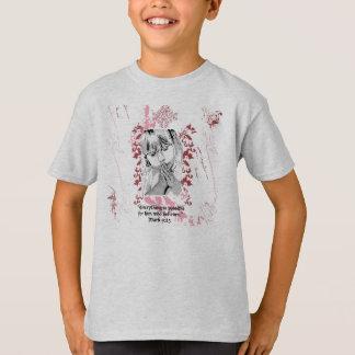 女の子の祈ること Tシャツ
