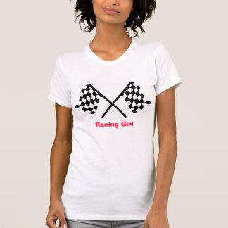 女の子の競争 Tシャツ
