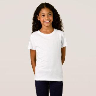 女の子の素晴らしいジャージーのTシャツ Tシャツ