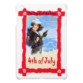 女の子の船員、7月の第4 iPad MINIケース