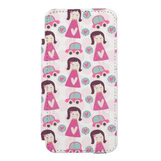 女の子の行く場所 INCIPIO WATSON™ iPhone 5 財布 ケース