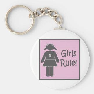 女の子の規則 キーホルダー