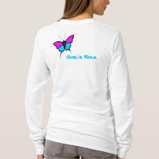 女の子の規則/蝶 Tシャツ