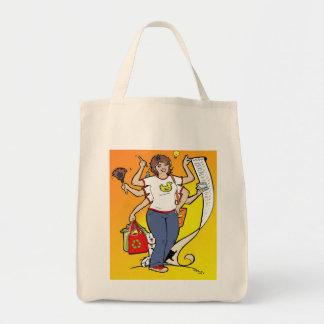 女の子の金曜日の食料雑貨のトート トートバッグ