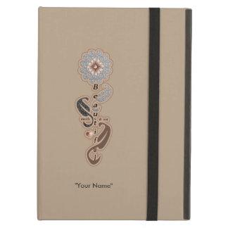 """女の子の""""美しい自己愛ダイヤモンドの花"""" iPad AIRケース"""