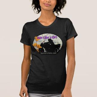 女の子の… sportbikeのような乗車 tシャツ