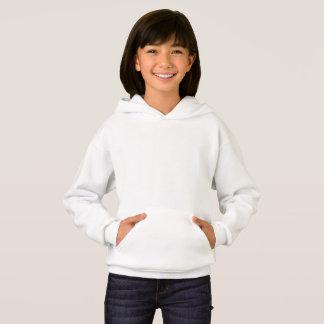 女の子のHanes Comfortblend®のフード付きスウェットシャツ