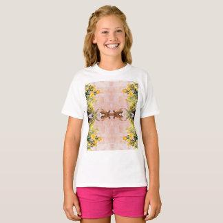 女の子のHanes TAGLESS®のTシャツ Tシャツ