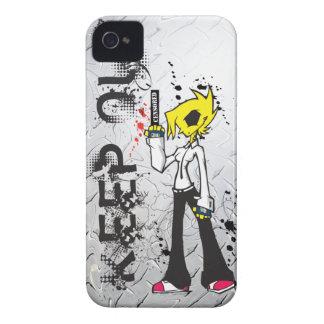 女の子のIPhoneの悪い例を保って下さい Case-Mate iPhone 4 ケース