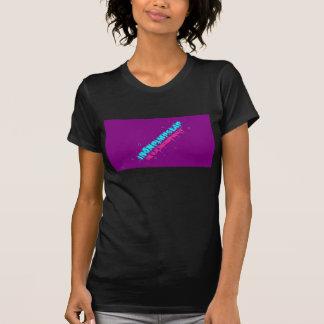 女の子のIronPimpSlapの紫色 Tシャツ