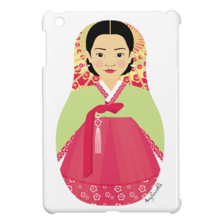 女の子のMatryoshkaの韓国のiPad Miniケース iPad Miniケース