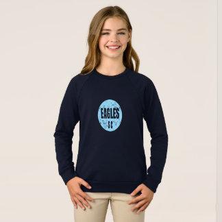 女の子のRaglanのセーター スウェットシャツ