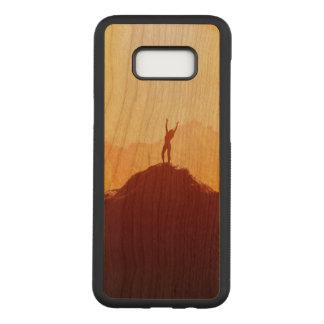 女の子のSamsungの銀河系S8+ 細いさくらんぼ木箱 Carved Samsung Galaxy S8+ ケース