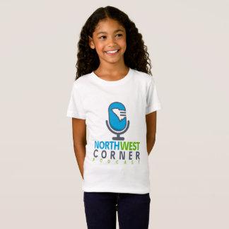 女の子のTシャツ|の北西角のポッドキャスト Tシャツ
