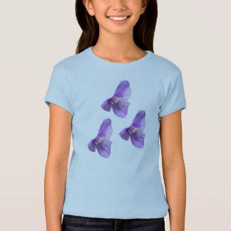 女の子のTシャツ-寡婦の破損 Tシャツ