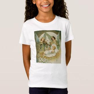 女の子のTシャツ: Excelsis Deoのグロリア Tシャツ