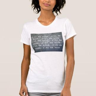 女の子のTシャツ、Iの`のllは素晴らしいです… Tシャツ