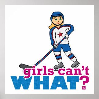女の子は何できませんか。 ColorizeMEはカスタム設計します ポスター