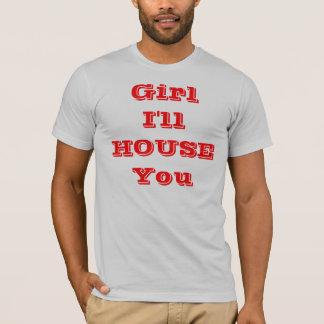 女の子はI収容します Tシャツ