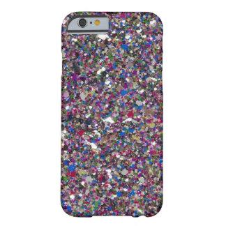 女の子らしい女の子のグリッターの輝きのiPhone6ケース Barely There iPhone 6 ケース
