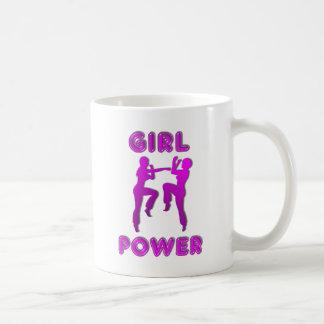 女の子力の武道の女性コーヒー・マグ コーヒーマグカップ