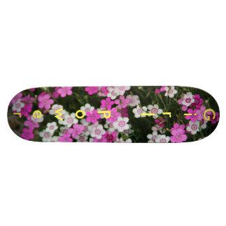 女の子力の花のスケートボード カスタムスケートボード