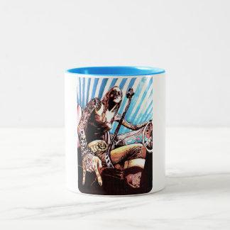 女の子力 ツートーンマグカップ