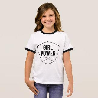 女の子力 Tシャツ