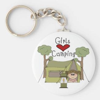 女の子愛キャンプ キーホルダー