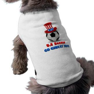 女の子米国のサッカー2011年は行きます ペット服