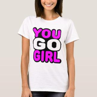 女の子行きます Tシャツ