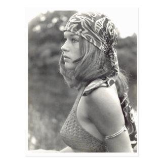 女の子1970年 ポストカード