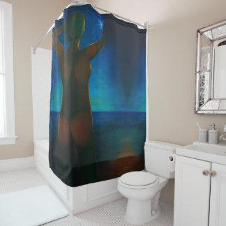 女の子 シャワーカーテン