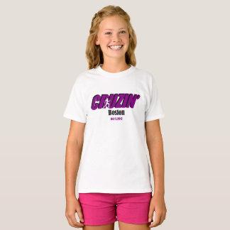 女の子Cruzinボストン Tシャツ