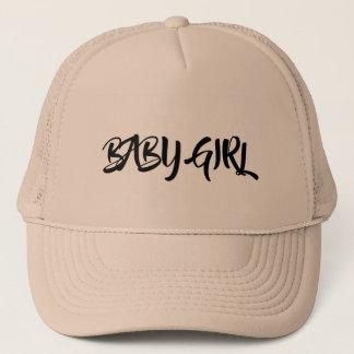 女の赤ちゃんのトラック運転手の帽子 キャップ