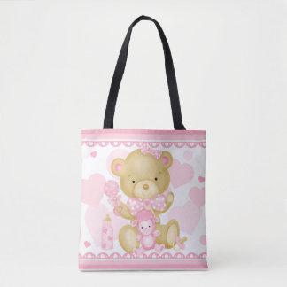 女の赤ちゃんのトートバック トートバッグ