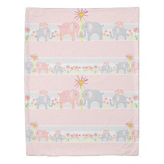 女の赤ちゃんの養樹園部屋の装飾の水彩画象 掛け布団カバー
